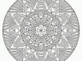Geometric Mandala Coloring Pages Free Advanced Mandala Coloring Pages Printable Download