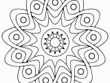 Geometric Mandala Coloring Pages Free Printable Geometric Coloring Pages for Kids