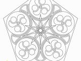 Geometric Mandala Coloring Pages Free Printable Mandala Coloring Pages