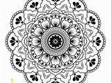 Geometric Mandala Coloring Pages Mandala Petals Stencils
