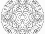 Geometric Mandala Coloring Pages Mandala Search Results thecoloringpics
