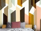 Geometric Wall Murals Uk Sequence Make A Small Room Look Bigger In 2019