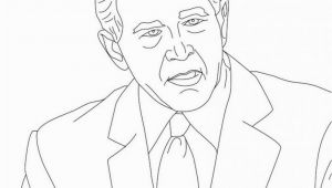 George W Bush Coloring Page 13 Inspirational George W Bush Coloring Page