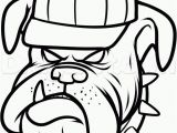 Georgia Bulldogs Coloring Pages Draw the Georgia Bulldogs Step by Step Drawing Sheets