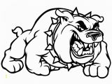 Georgia Bulldogs Coloring Pages Football Free Clipart 126