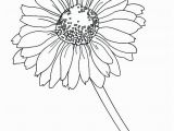 Gerbera Daisy Coloring Page Daisy Coloring Pages at Getdrawings