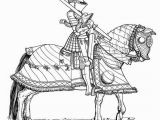 German Coloring Pages for Kids Knights In Armor Fun Kit 4 Sample Pages