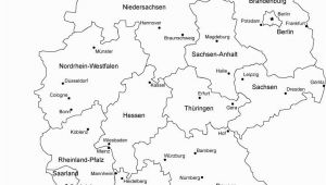 Germany Map Coloring Page Germany Printable Blank Map Bonn Berlin Europe Royalty Free