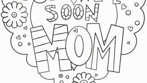 Get Well soon Mom Coloring Pages Get Well soon Mom Coloring Page