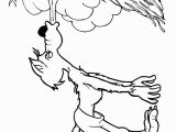 Giant Coloring Murals Three Little Pigs Coloring Page the Big Bad Wolf Blowing the Straw