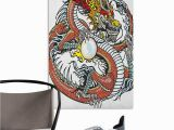 Giant Coloring Wall Murals Amazon Camerofn 3d Murals Stickers Wall Decals Dragon