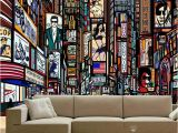 Giant Coloring Wall Murals New Three Dimensional European Style Street Color 3d Large