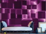 """Giant Scenic Wall Mural Beautiful and Stunning This Large Wallpaper Mural """" Purple"""