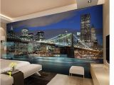 Giant Scenic Wall Mural Papel De Parede City Night 3d Mural Beautiful Night Mural Non Woven Wallpaper Customize Size Free Fast Shipping Wallpapers Downloads