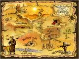 Giant Treasure Map Wall Decoration Mural Image Result for Post Apocalyptic Maps