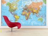Giant Wall Map Mural 37 Eye Catching World Map Posters You Should Hang Your