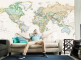 Giant Wall Map Mural 41 World Maps that Deserve A Space On Your Wall