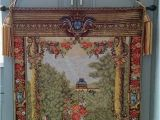 """Giant Wall Murals Ebay 35"""" X 29"""" Floral Horses Hanging Wall Art Woven"""
