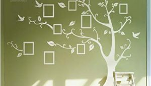 Giant Wall Sticker Murals Huge White Frame Wall Stickers Memory Tree Wall Decals Decor Vine Branch Removable Pvc Stickers Murals