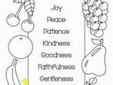 Gift Of the Holy Ghost Coloring Page Fruit the Spirit Crafts