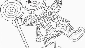 Gingerbread Girl Coloring Pages Printable √ 24 Gingerbread Girl Coloring Page In 2020