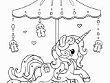 Gingerbread Girl Coloring Pages Printable Holiday Carousel Pony Gingerbread Pony Lineart by Yampuff