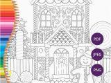 Gingerbread Girl Coloring Pages Printable Weihnachten Färbung Seiten Lebkuchenhaus Druckbare Malvorlagen Für Erwachsene Festliche Download Xmas Färbung Druck Färbung Winter