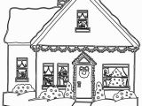 Gingerbread House Coloring Pages Beautiful Gingerbread House Coloring Pages Coloring Pages