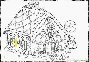 Gingerbread House Coloring Pages Pdf Candy Coloring Pages for Gingerbread House Mormon Gingerbread House