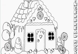 Gingerbread House Coloring Pages Pdf Gingerbread House Coloring Pages Inspirational Gingerbread House