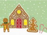 Gingerbread House Wall Mural Christmas Baubles Bauble Wall Mural