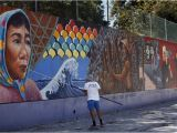 Gingerbread House Wall Mural L A S Judith Baca Wins $50 000 Award Breaking Ground for