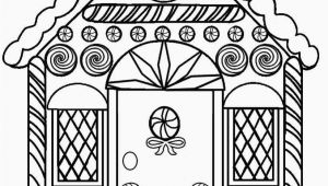 Gingerbread Man House Coloring Pages Printable Gingerbread House Coloring Pages for Kids