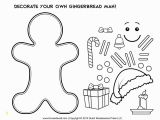 Gingerbread Man Loose In the School Coloring Page Fun Lesson Plan and Gingerbread Man Cutout Template for