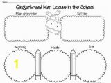 Gingerbread Man Loose In the School Coloring Page Gingerbread Man Loose In the School by Staying Cool In the