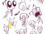 Gir Coloring Pages From Invader Zim 55 Best Invader Zim Images On Pinterest