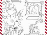 Girl Elf On the Shelf Coloring Pages Print This Sheet Out for some Christmas Coloring Fun