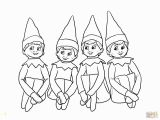 Girl Elf On the Shelf Coloring Pages Printable Girl Elf the Shelf Coloring Pages Coloring Home