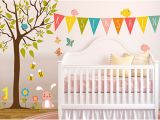 Girl Nursery Wall Murals Nursery Wall Decals & Kids Wall Decals