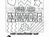 Girl Scout Brownie Coloring Pages Girl Scout Brownie Coloring Pages Brownie Girl Scout