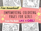 Girl Scout Coloring Pages Printable Girl Power Free Printables Of the Coloring Book Like A