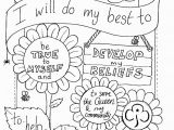 Girl Scout Law Printable Coloring Pages Girl Scout Promise Coloring Pages Neo Coloring