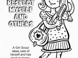 Girl Scout Law Printable Coloring Pages Girl Scouts Coloring Pages Coloring Home