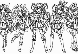 Glitter force Coloring Pages Printable Glitter force Coloring Pages Printable