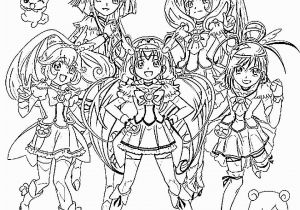 Glitter force Coloring Pages Printable Glitter force
