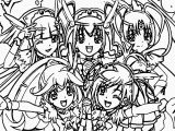Glitter force Doki Doki Coloring Pages the Best Free Glitter Coloring Page Images Download From