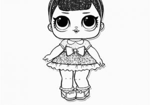Glitter Series Lol Dolls Coloring Pages Fancy Glitter Lol Surprise Doll Coloring Page