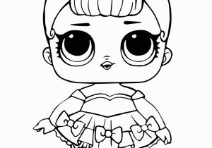 Glitter Series Lol Dolls Coloring Pages Lol Doll Coloring Page Miss Baby Glitter