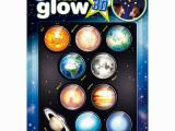 Glow In the Dark Space Wall Mural Cosmic Glow In the Dark 3d Planets Set