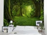 Glow In the Dark Wall Mural forest Dresslily Gallery forest Pattern Wall Tapestry